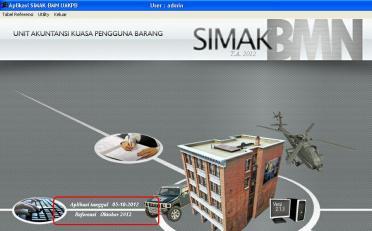 SIMAK Versi Oktober 2012